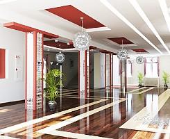 Дизайн холла дома культуры